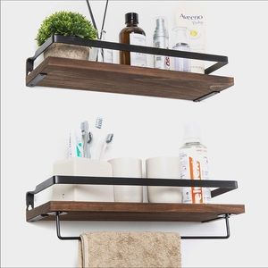 Wall Art - 💕Farmhouse Wall Floating Shelves Solid Wood New💕